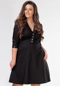 d1ceafeb8a Sukienka rozkloszowana LOTTE plus size