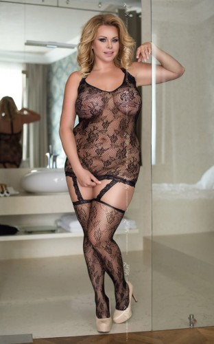 Bodystocking CRAZY plus size XXL